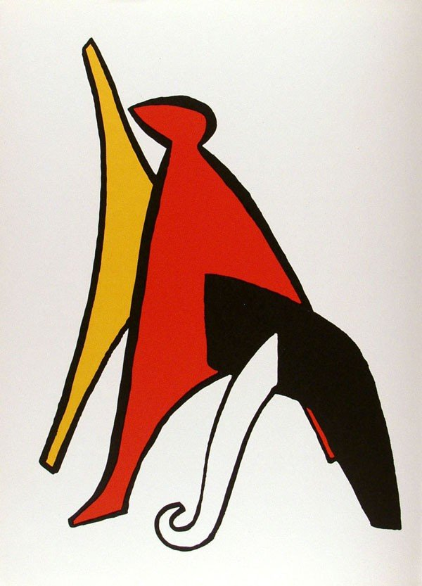 584: ALEXANDER CALDER - Color lithograph