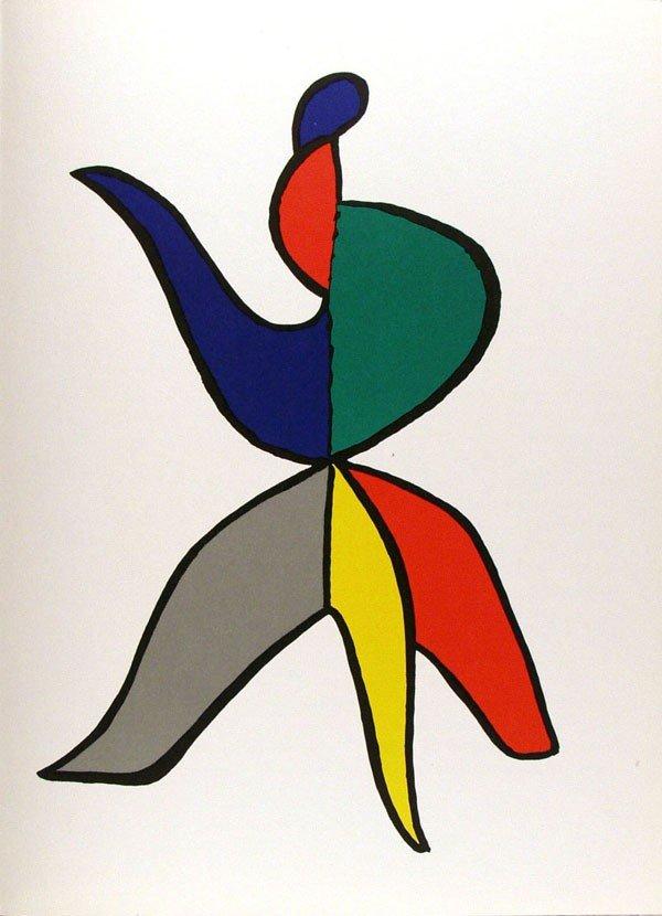 585: ALEXANDER CALDER - Color lithograph