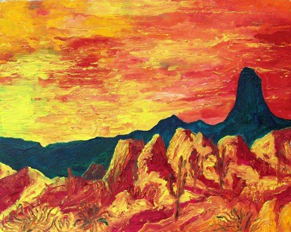 587: MARTIN DEANE COPPINGER - Oil on canvas board