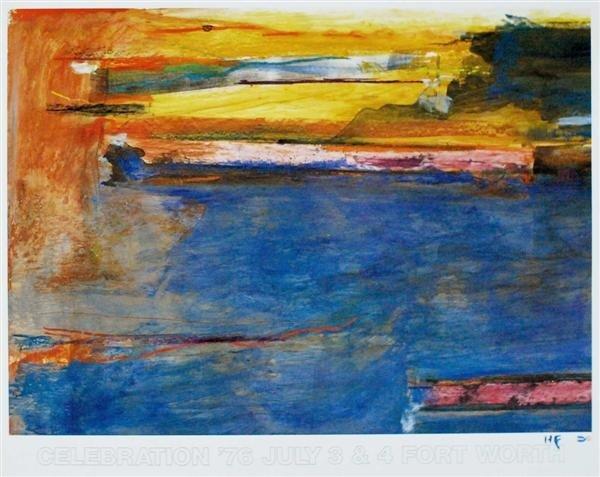 589: HELEN FRANKENTHALER [AFTER] - Color offset lithogr