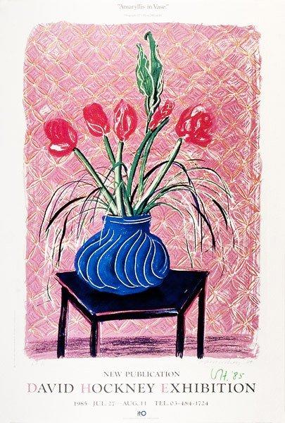 780: DAVID HOCKNEY - Color offset lithograph poster