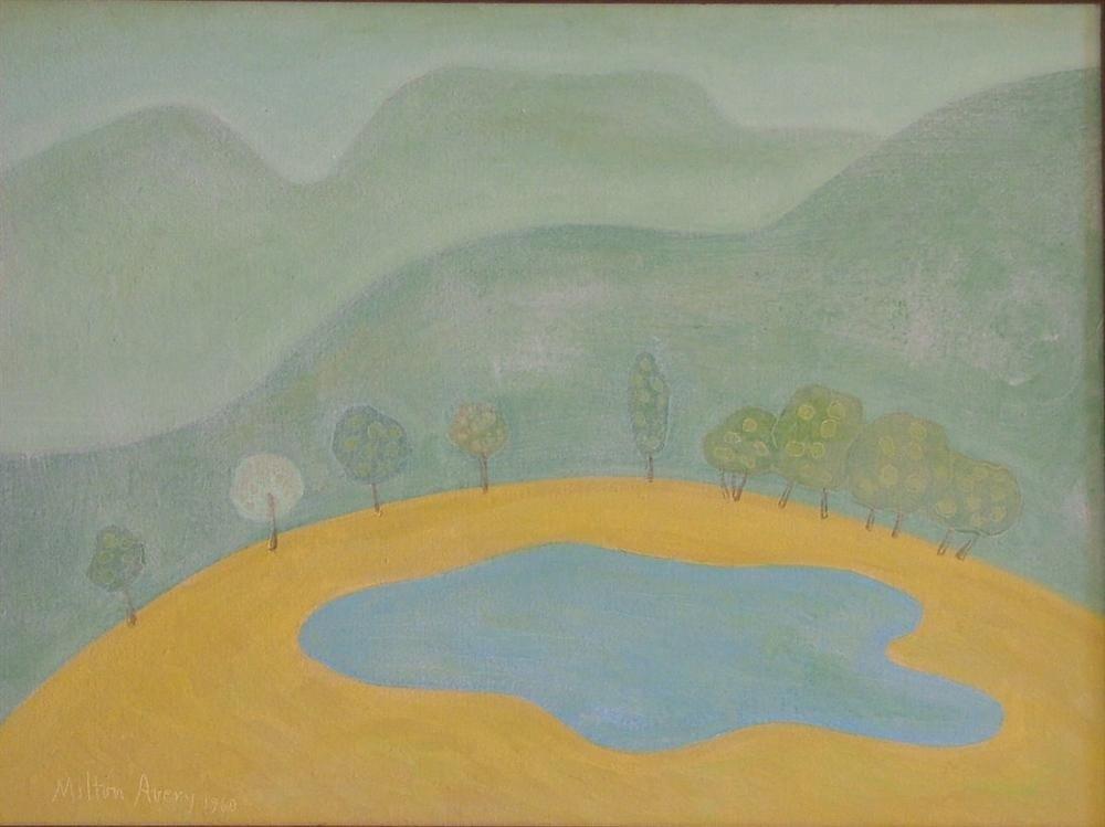 9: MILTON AVERY - Oil on canvas