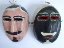 536 MEXICAN MASKMAKER 20TH CENTURY  Handpainted h