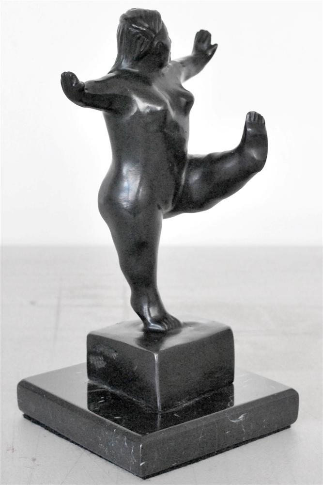 1084: FERNANDO BOTERO [ATTRIB] - Bronze sculpture with - 2