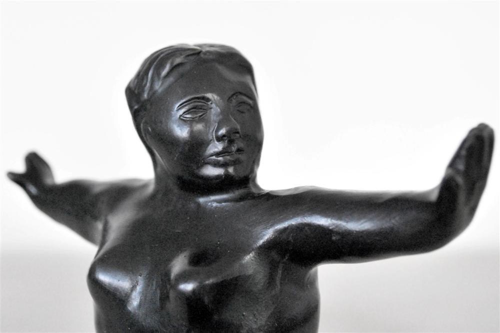 1084: FERNANDO BOTERO [ATTRIB] - Bronze sculpture with - 5