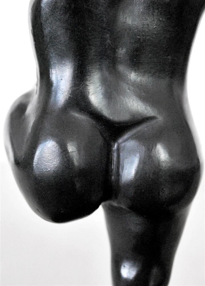 1084: FERNANDO BOTERO [ATTRIB] - Bronze sculpture with - 6