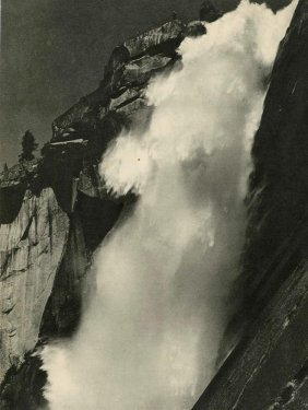 11: ANSEL ADAMS - Original vintage photogravure
