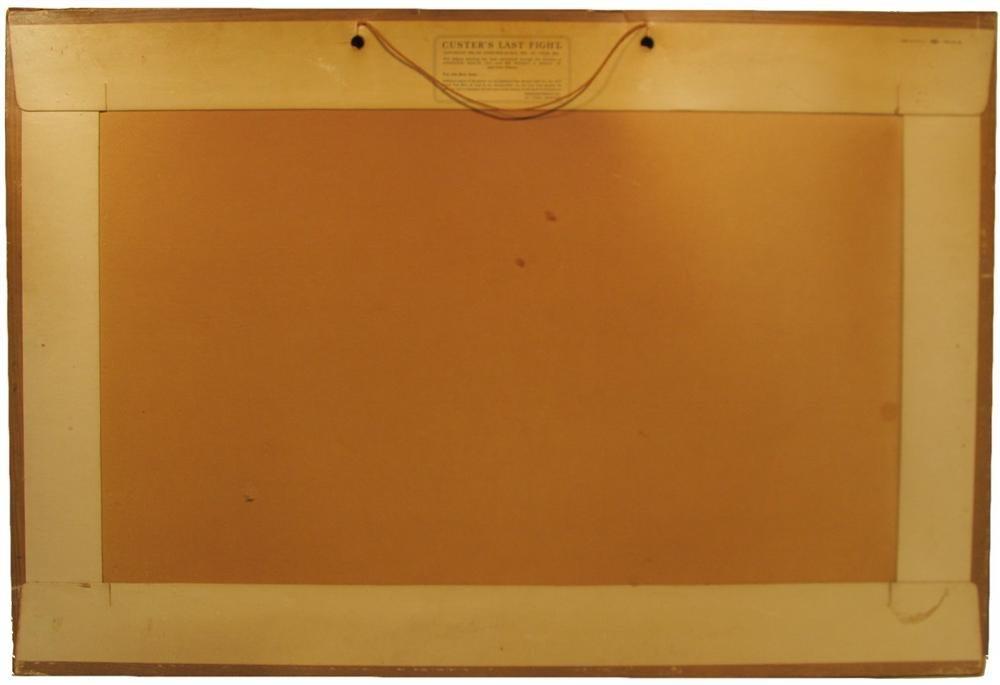 9: ANHEUSER-BUSCH - Original color chromolithograph - 8