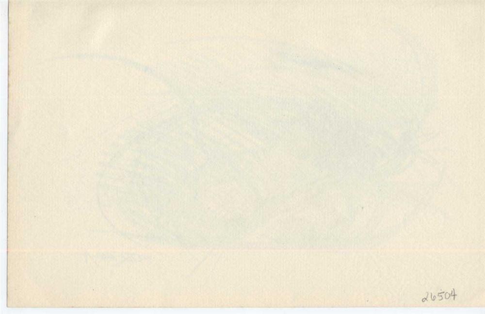 18: GIACOMO BALLA - Original color pencil drawing - 2