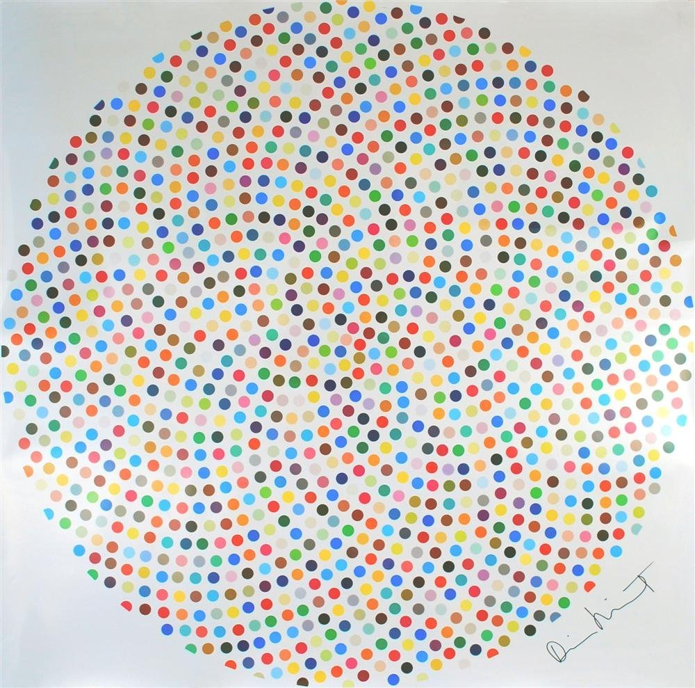 160: DAMIEN HIRST - Color print