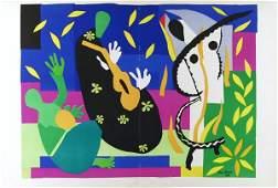 314: HENRI MATISSE - Original color lithograph