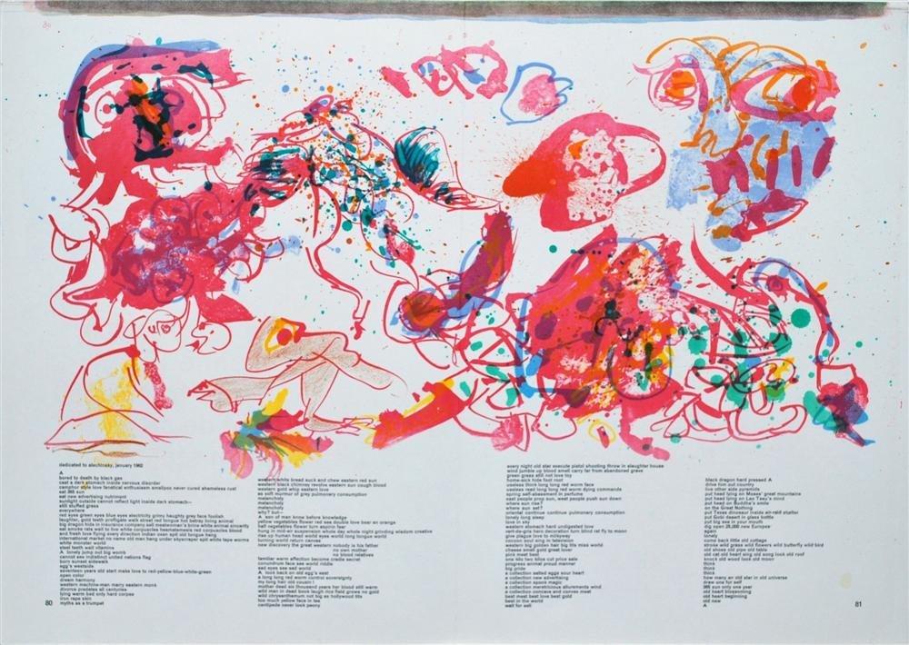 584: PIERRE ALECHINSKY - Color lithograph