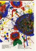 791 SAM FRANCIS  Color lithograph