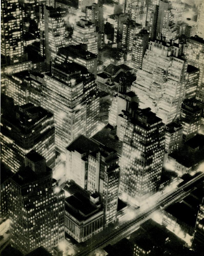 3: BERENICE ABBOTT - Original vintage photogravure