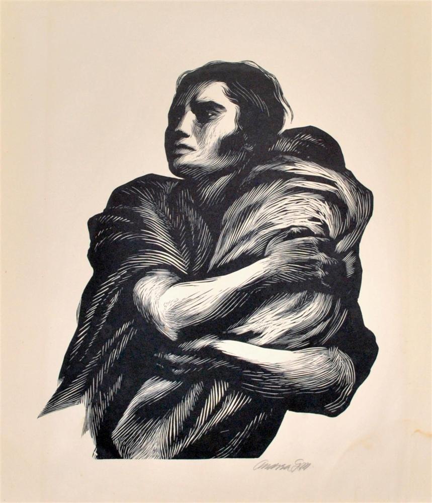 131: ANDREA GOMEZ - Linoleum cut
