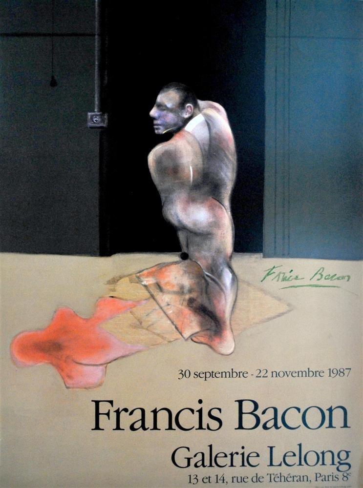 731: FRANCIS BACON - Original color offset lithograph p