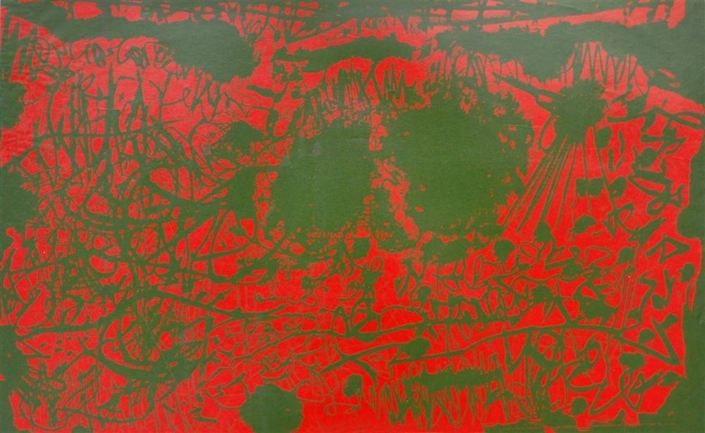 837: ROY DE FOREST - Color lithograph