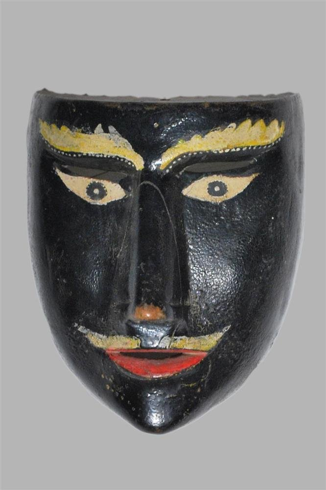 1516: MEXICAN MASKMAKER [20TH CENTURY] - Hand-carved, h