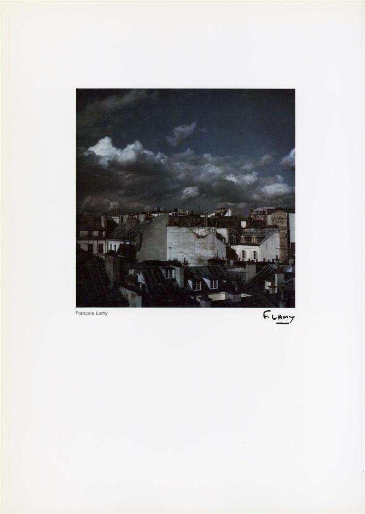 1005: FRANCOIS LAMY - Vintage color photometalgraph