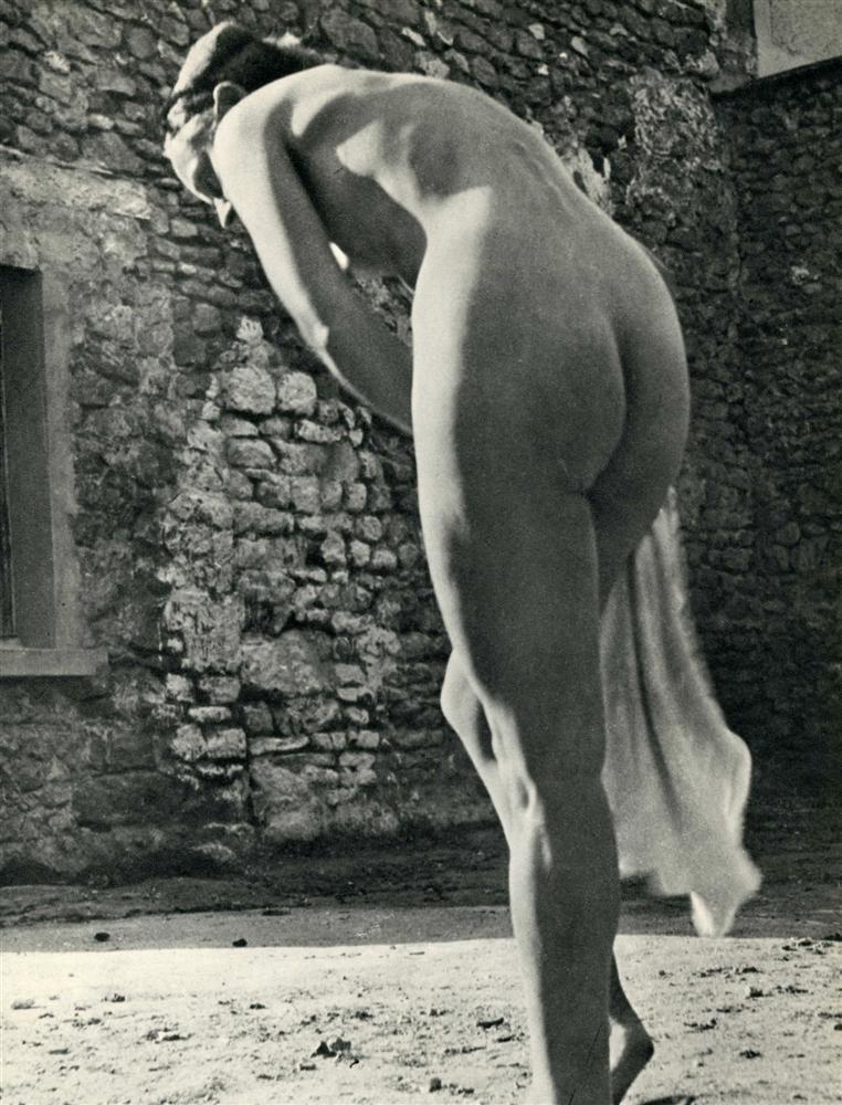1008: ERGY LANDAU - Original vintage photogravure