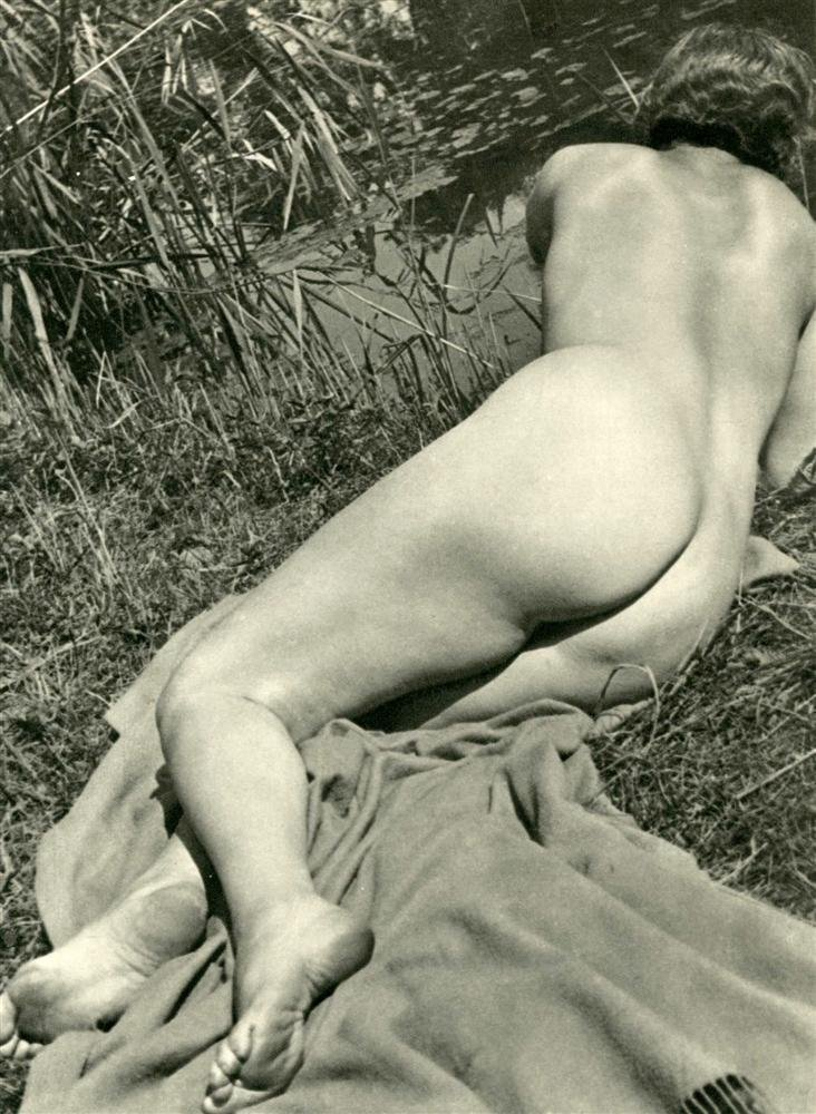 1011: ERGY LANDAU - Original vintage photogravure