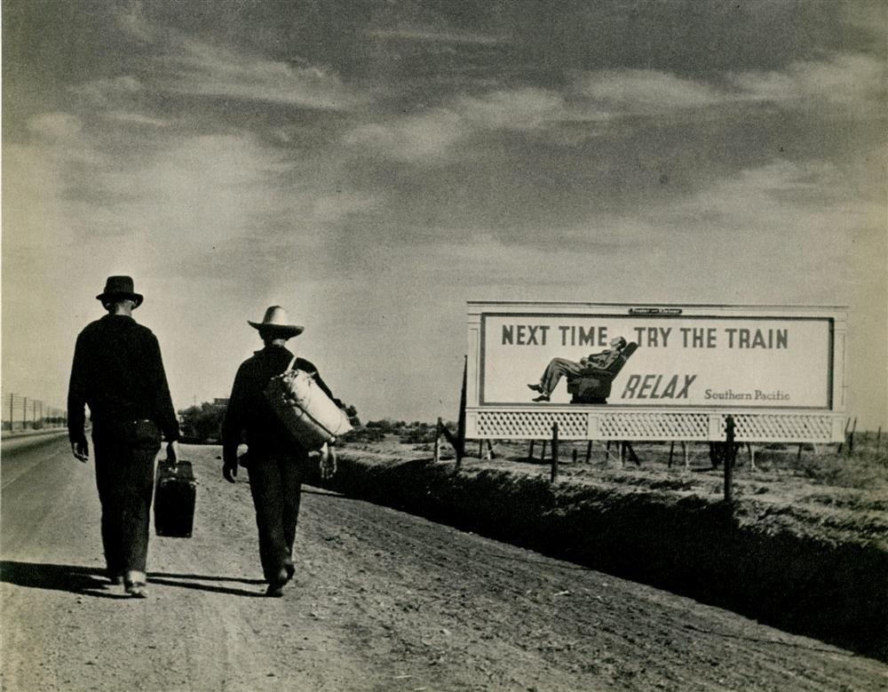 1015: DOROTHEA LANGE - Original vintage photogravure
