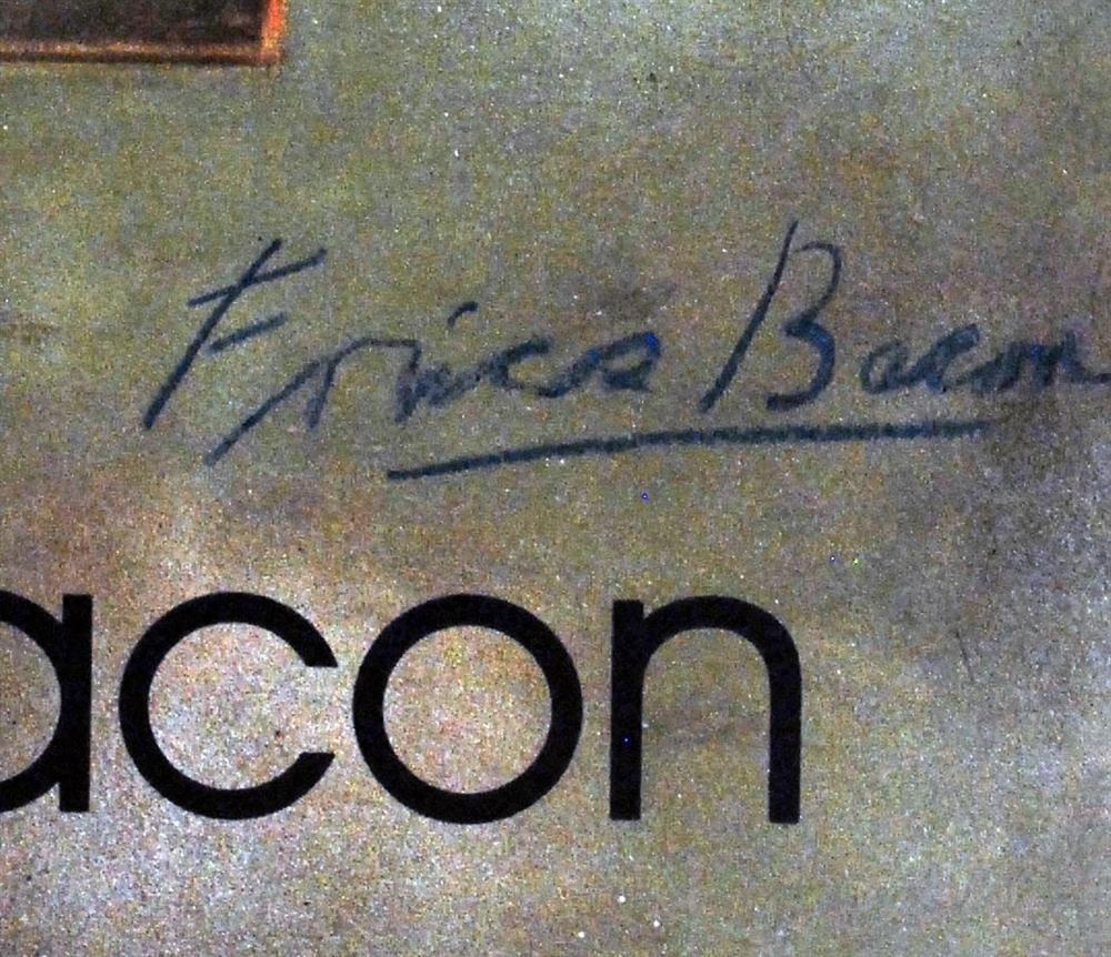 640: FRANCIS BACON - Original color offset lithograph p - 2