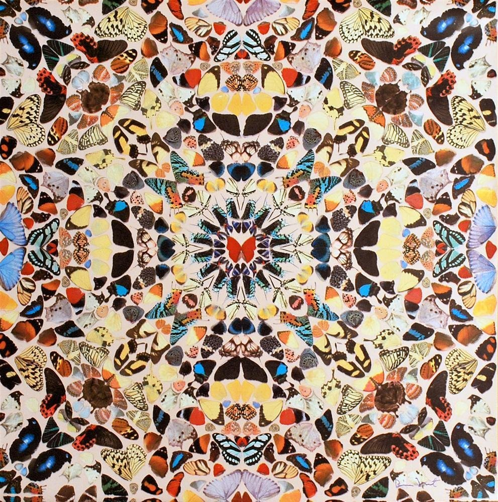 830: DAMIEN HIRST - Color silkscreen and offset lithogr