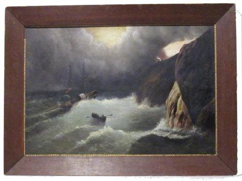 4: IVAN AIVAZOVSKY - Oil on board