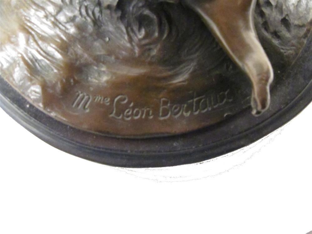 48: LEON BERTAUX [BY OR AFTER] - Bronze sculpture - 5