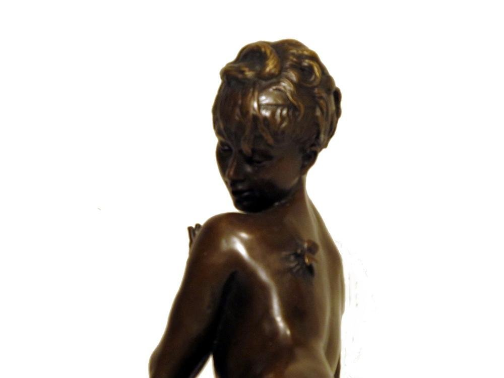 48: LEON BERTAUX [BY OR AFTER] - Bronze sculpture - 7