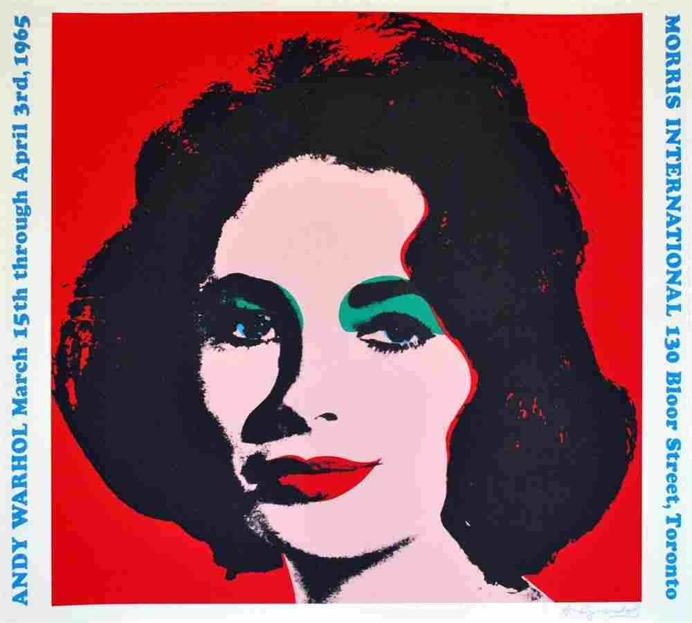723: ANDY WARHOL - Color offset lithograph poster