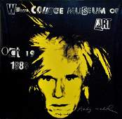 732: ANDY WARHOL - Color offset lithograph poster