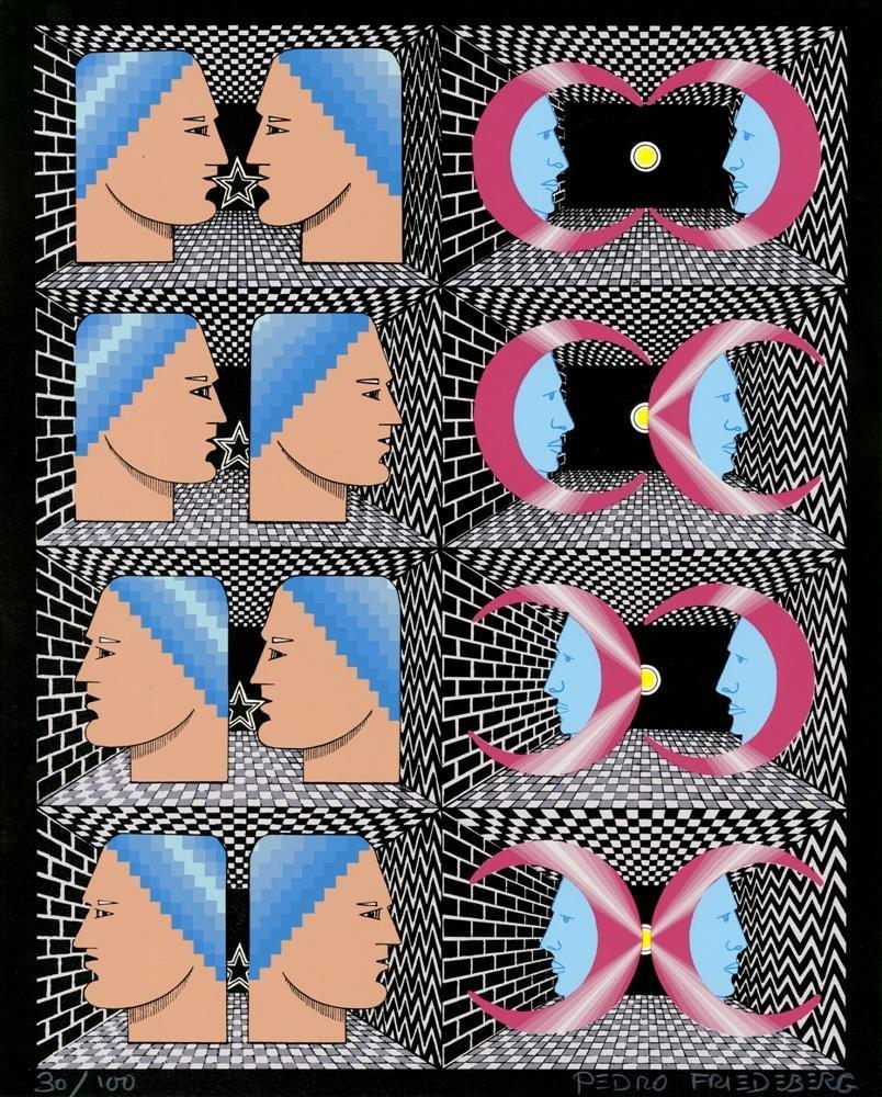 1033: PEDRO FRIEDEBERG - Color silkscreen