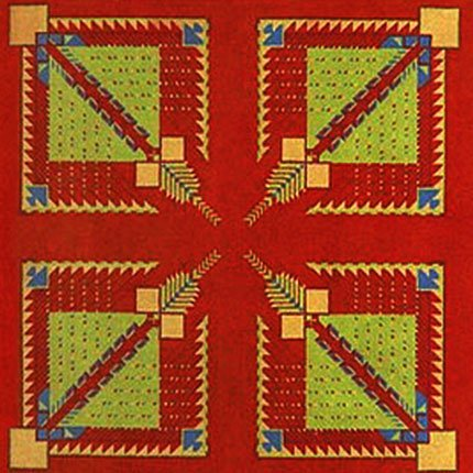 1658: FRANK LLOYD WRIGHT/TALIESIN ARCHITECTS - Textile