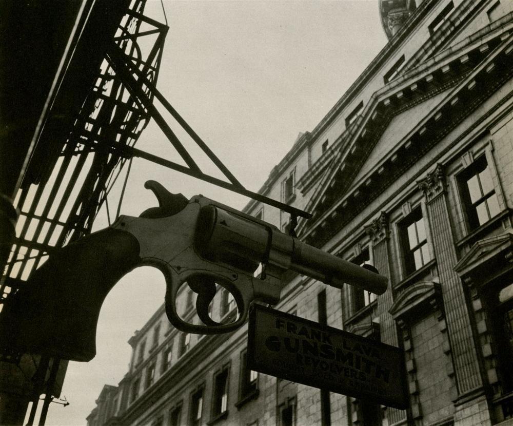 BERENICE ABBOTT - Original vintage photoengraving