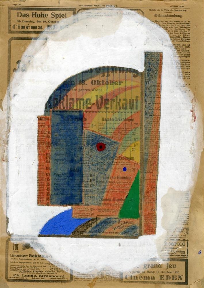 YURI PAVLOVICH ANNENKOV - Mixed Media on paper,