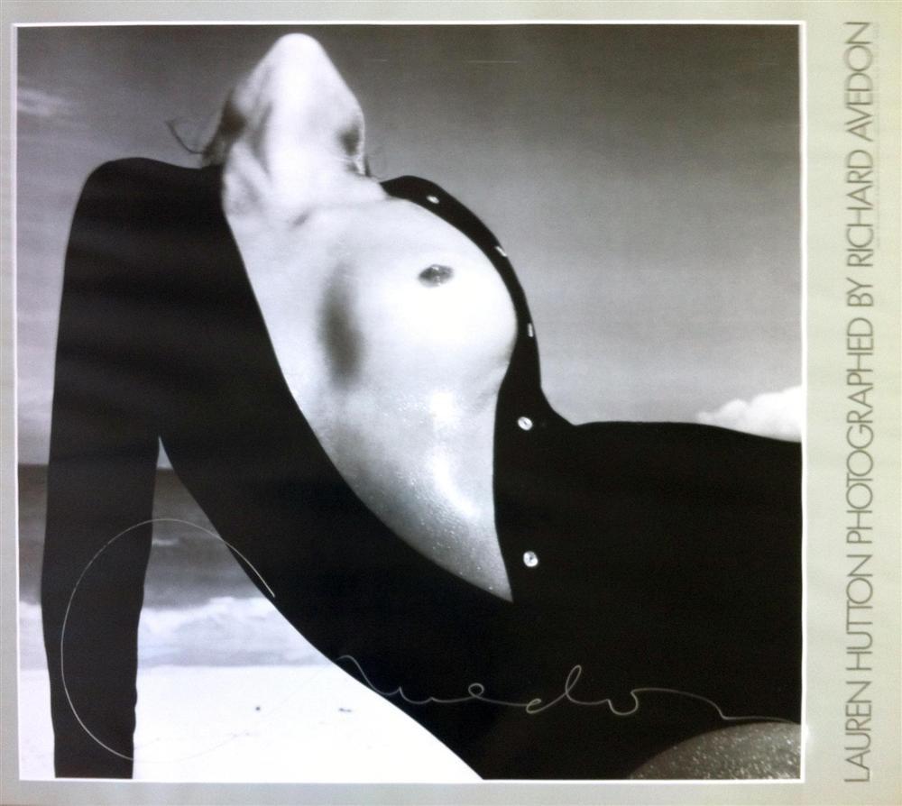 RICHARD AVEDON - Color offset lithograph poster