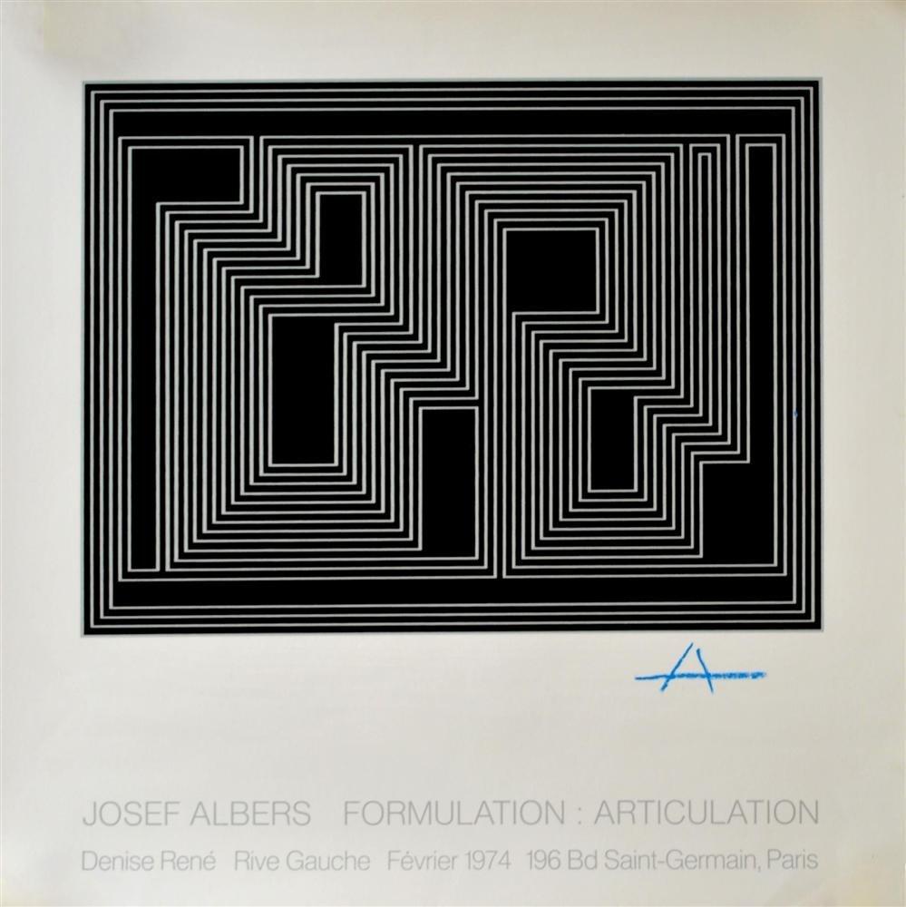 10: JOSEF ALBERS - Original silkscreen