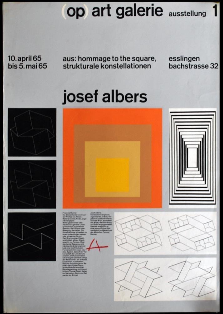 11: JOSEF ALBERS - Original color silkscreen