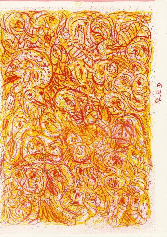 20: PIERRE ALECHINSKY - Color lithograph