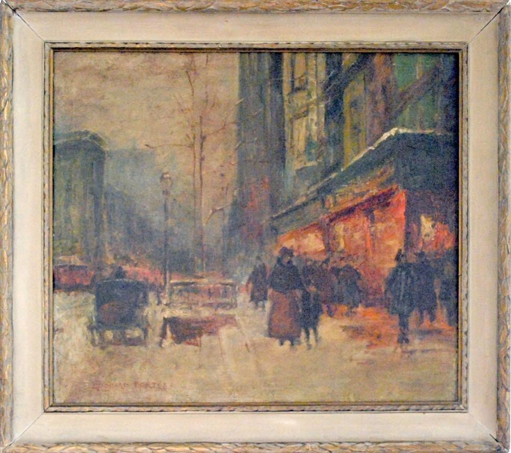 256: EDOUARD CORTES - Oil on canvas