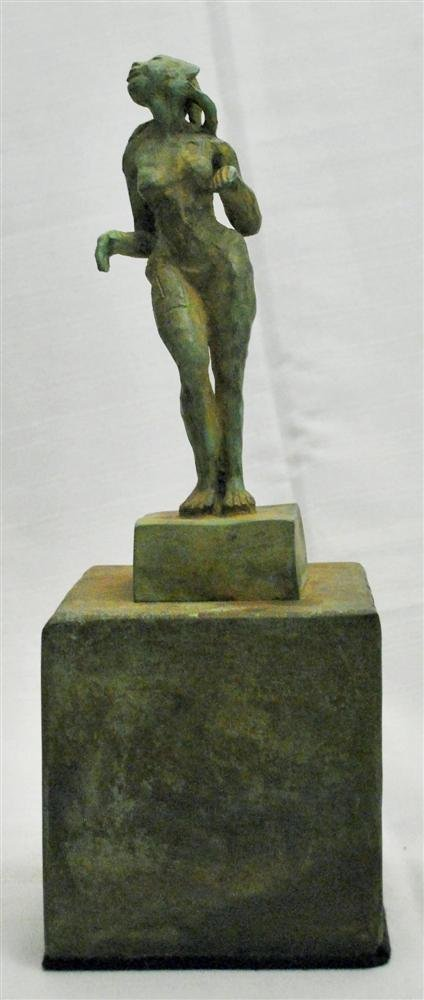 809: JAVIER MARIN [BY OR AFTER] - Bronze sculpture with