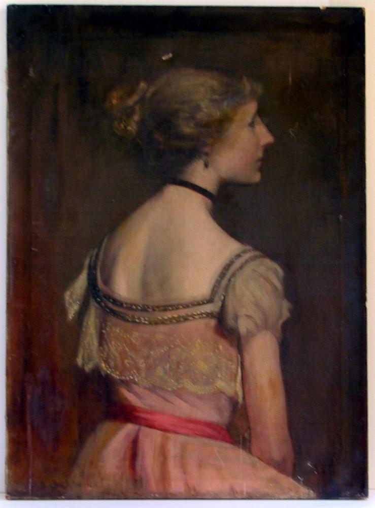 1236: EVERETT SHINN - Oil on canvas