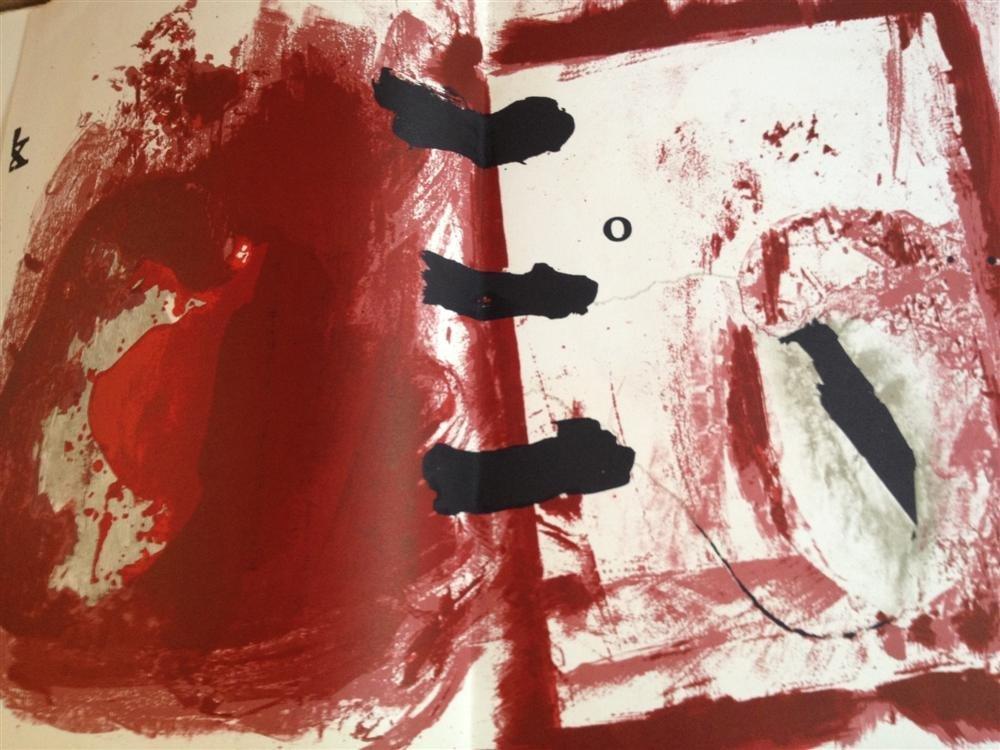 639: ANTONI TAPIES - Color lithographs