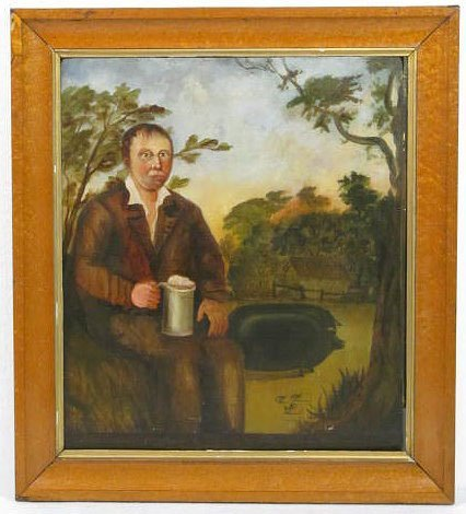 1403: RICHARD WHITFORD - Oil on board