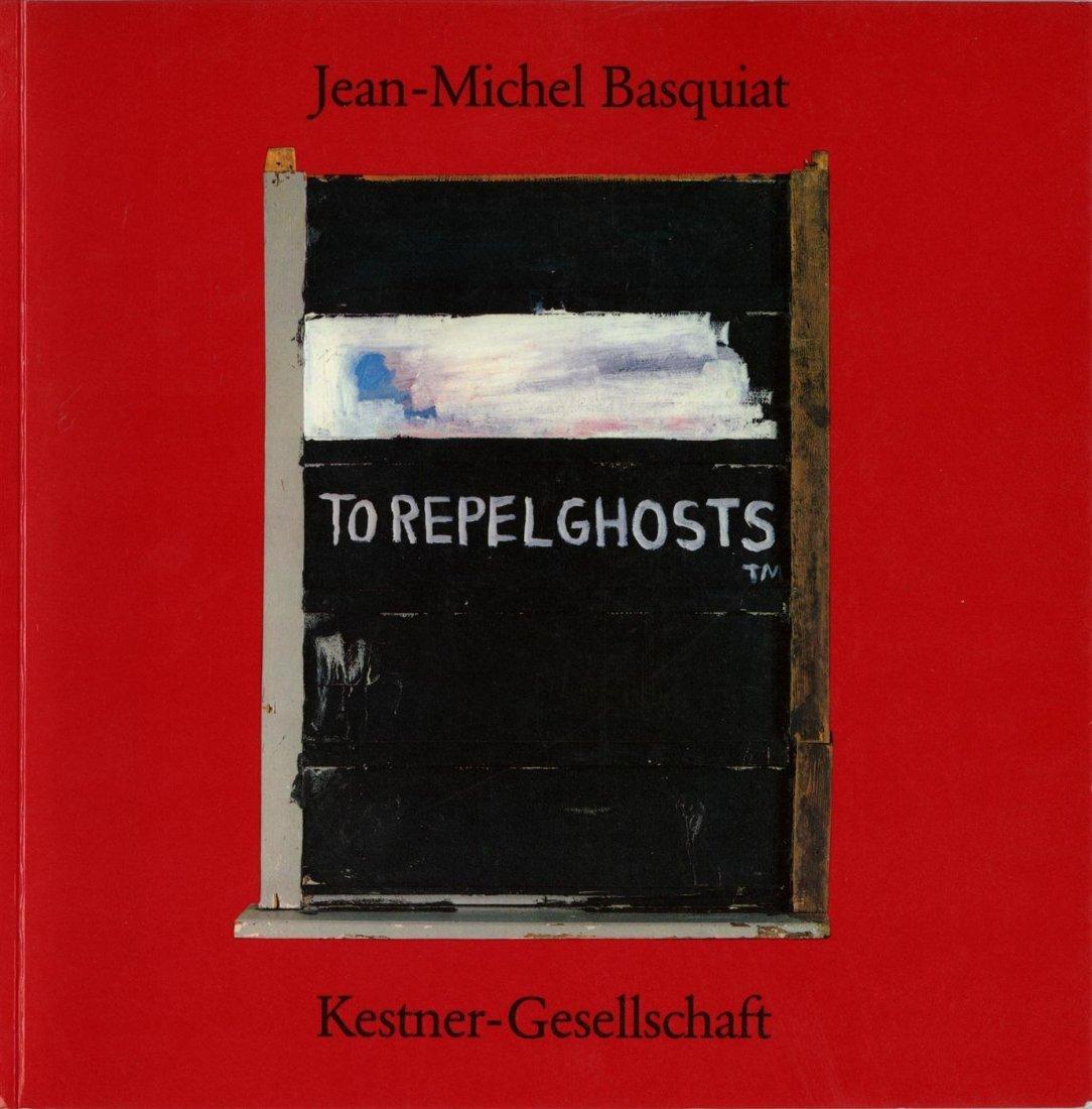 8: JEAN-MICHEL BASQUIAT - Color offset lithograph front