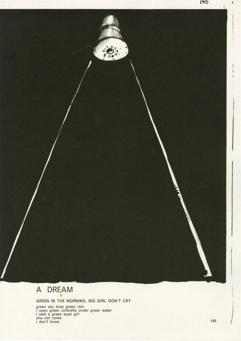 14: JIM DINE - Color lithograph