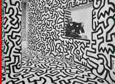 25 KEITH HARING  Color offset lithograph
