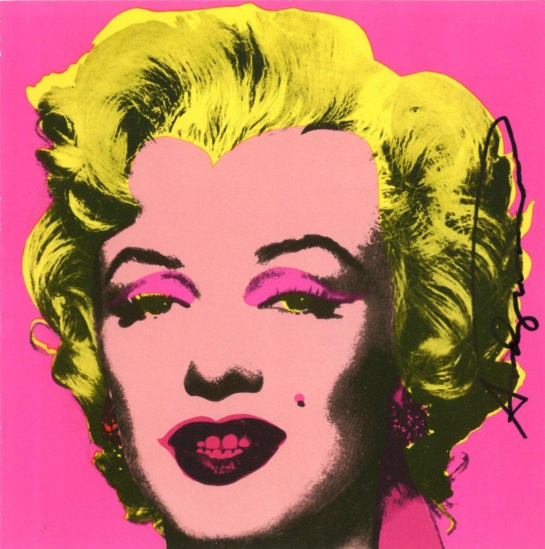 226: ANDY WARHOL - Original color offset lithograph